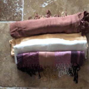 Other - Bundle of 4 pashminas
